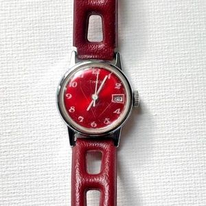 Vintage Timex Mercury Ladies Mechanical Date Watch